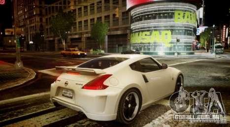 Nissan 370Z Final para GTA 4 vista direita
