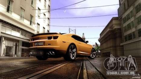 Chevrolet Camaro ZL1 2011 v1.0 para GTA San Andreas esquerda vista