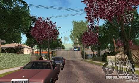 Green Piece v1.0 para GTA San Andreas por diante tela