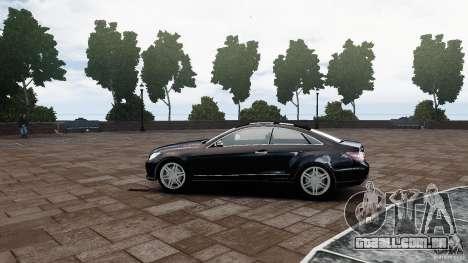 Mercedes Benz E500 Coupe para GTA 4 esquerda vista
