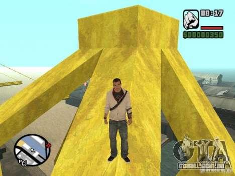 Desmond Miles para GTA San Andreas por diante tela