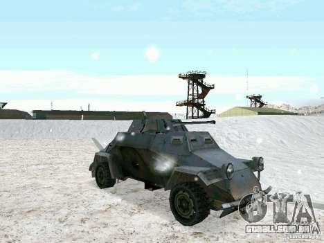 Transporte de pessoal blindados do jogo atrás da para GTA San Andreas