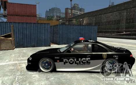 Nissan 200SX Police v0.2 para GTA 4 esquerda vista