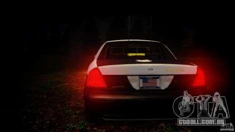 Ford Crown Victoria 2003 Florida CVPI [ELS] para GTA 4 motor