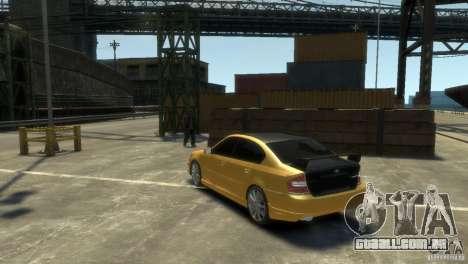 SUBARU Legacy B4 tuning para GTA 4 vista direita
