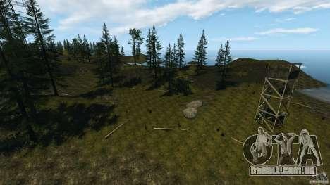 The Loggers Point para GTA 4 por diante tela
