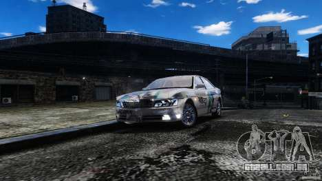 Nissan Laurel GC35 Itasha para GTA 4 vista de volta