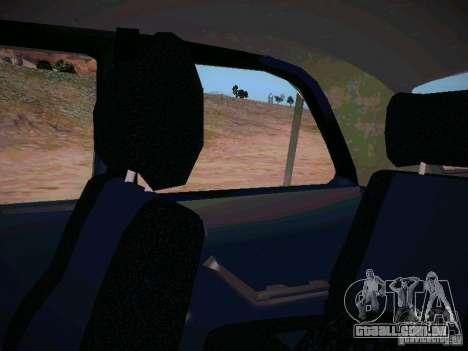 GÁS-31025 para GTA San Andreas vista superior