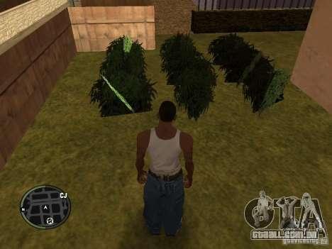 Maconha v2 para GTA San Andreas sétima tela