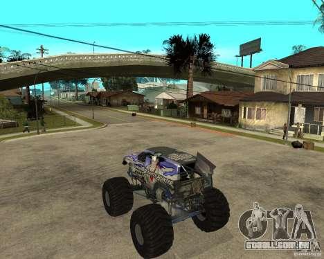 Bounty Hunter para GTA San Andreas esquerda vista