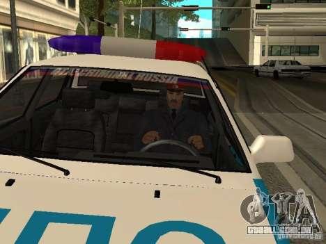 Polícia da URSS para GTA San Andreas segunda tela