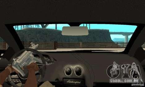 Lamborghini Murcielago Tuned para GTA San Andreas vista direita