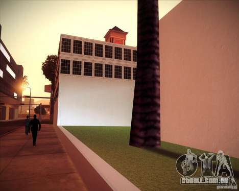 All Saints Hospital para GTA San Andreas por diante tela