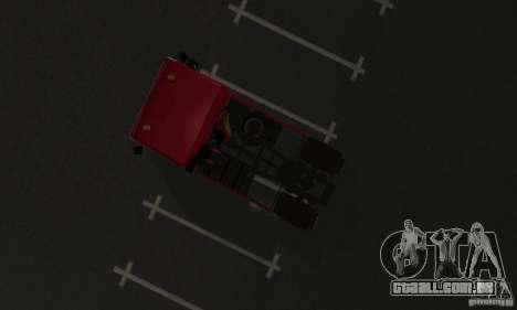 KAMAZ 5460 pele 1 para GTA San Andreas vista traseira