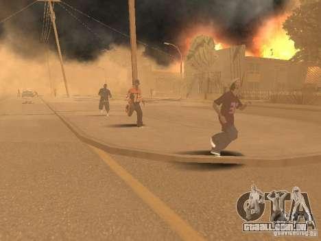 Terremoto para GTA San Andreas quinto tela