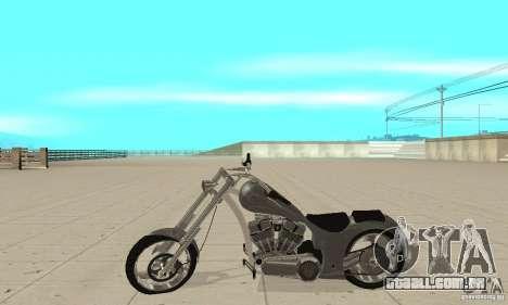 GTAIV Hellfury para GTA San Andreas esquerda vista