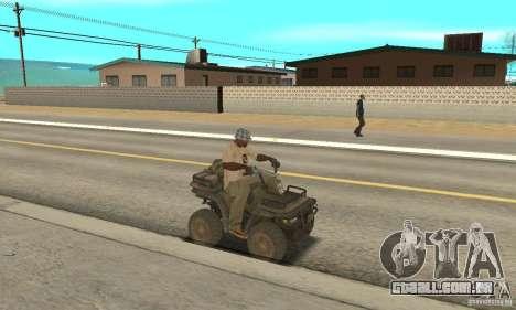 Novo Atv para GTA San Andreas vista direita