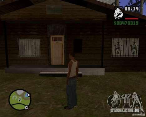 Casa caçador v 1.0 para GTA San Andreas