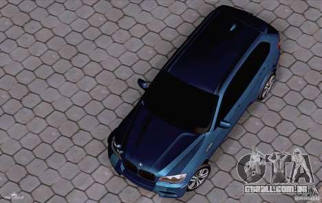 BMW X5M 2013 v1.0 para GTA San Andreas vista direita