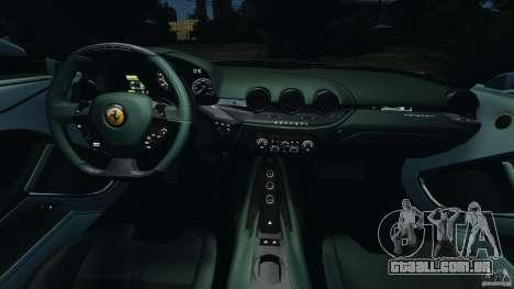 Ferrari F12 Berlinetta 2013 [EPM] para GTA 4 vista de volta