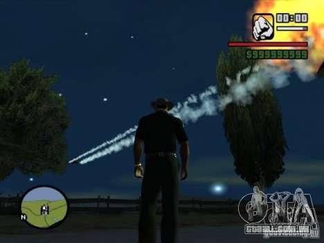 Apoio aéreo para GTA San Andreas