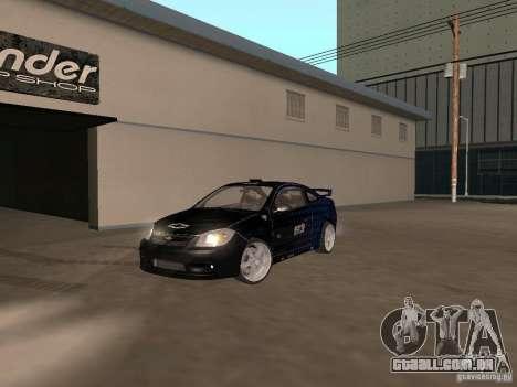 Chevrolet Cobalt Tuning para GTA San Andreas vista direita