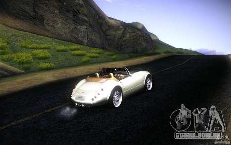 Wiesmann MF3 Roadster para o motor de GTA San Andreas