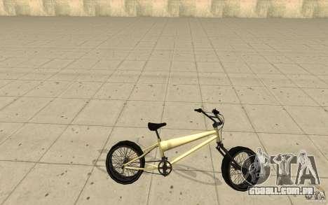 BMX Long para GTA San Andreas esquerda vista