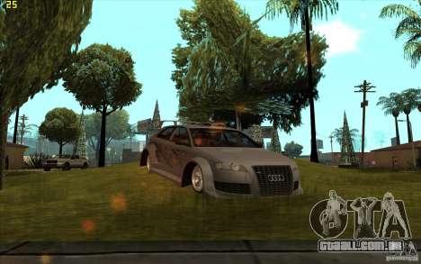 Audi A3 para GTA San Andreas esquerda vista