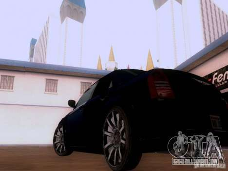 Chrysler 300C SRT8 2007 para GTA San Andreas vista direita