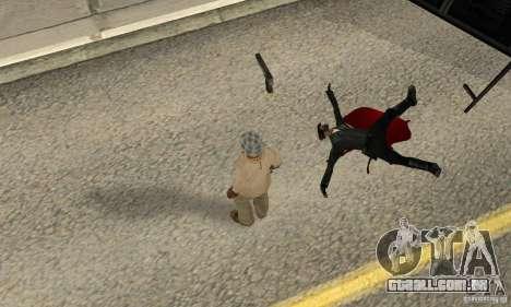 GTA IV Blood para GTA San Andreas terceira tela