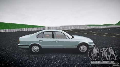 BMW 535i E34 para GTA 4 vista de volta