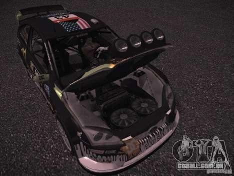 Ford Focus RS Monster Energy para GTA San Andreas vista interior