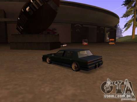 Willard Drift Style para GTA San Andreas esquerda vista