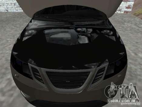 Saab 9-3 Turbo X para GTA San Andreas vista direita