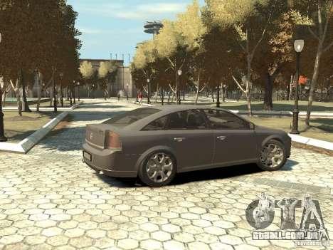 Opel Vectra para GTA 4 esquerda vista