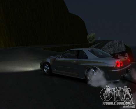 Rocky Drift Island para GTA 4 quinto tela