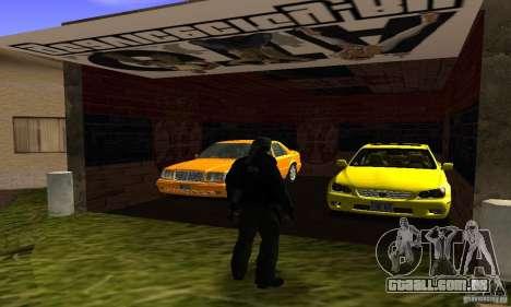 Grove Street v1.0 para GTA San Andreas por diante tela
