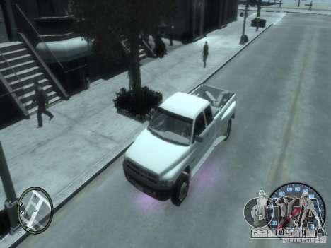 Dodge Ram 3500 para GTA 4 vista de volta