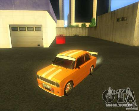 2101 VAZ explosivo carro tuning para GTA San Andreas