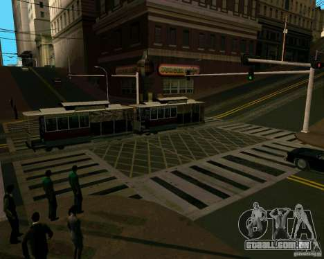 GTA 4 Roads para GTA San Andreas quinto tela