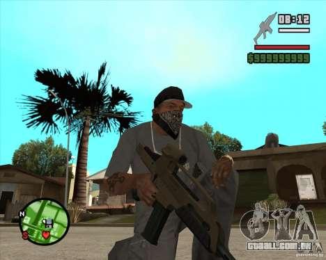 End Of Days: XM8 (HD) para GTA San Andreas segunda tela