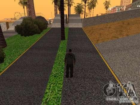 HD Santa Maria Beach para GTA San Andreas oitavo tela