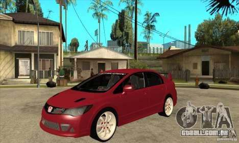 Honda Civic Mugen RR para GTA San Andreas
