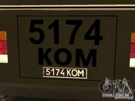 PAZ 672 v2 para GTA San Andreas vista direita