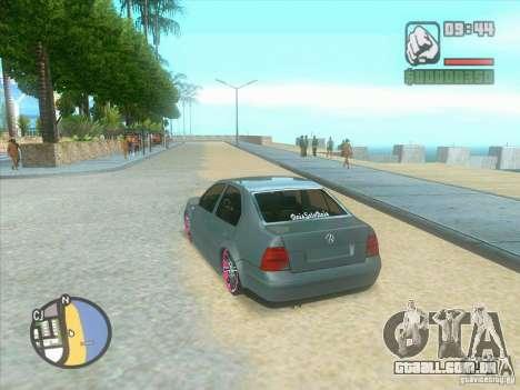 VW Bora Tuned para GTA San Andreas vista direita