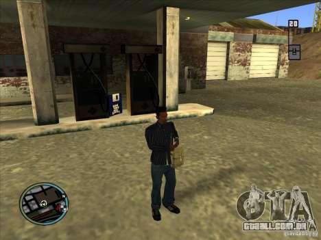 SA IV WEAPON SCROLL 2.0 para GTA San Andreas segunda tela