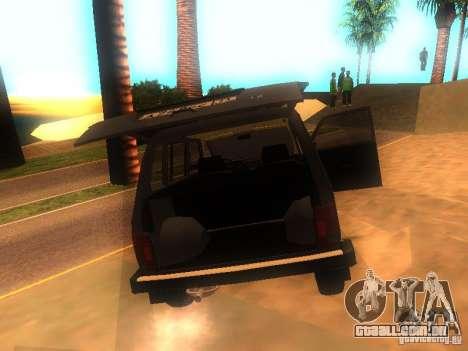 Vaz 2131 NIVA para GTA San Andreas vista direita