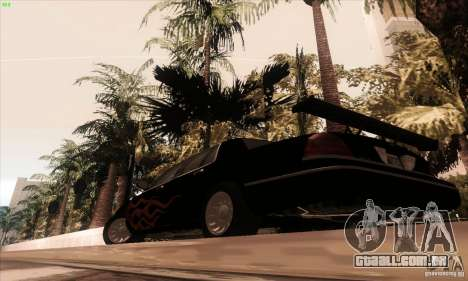 Ford Crown Victoria 2003 para GTA San Andreas vista inferior