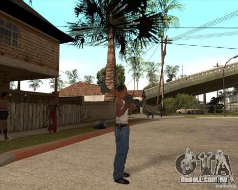 CoD:MW2 weapon pack para GTA San Andreas sexta tela